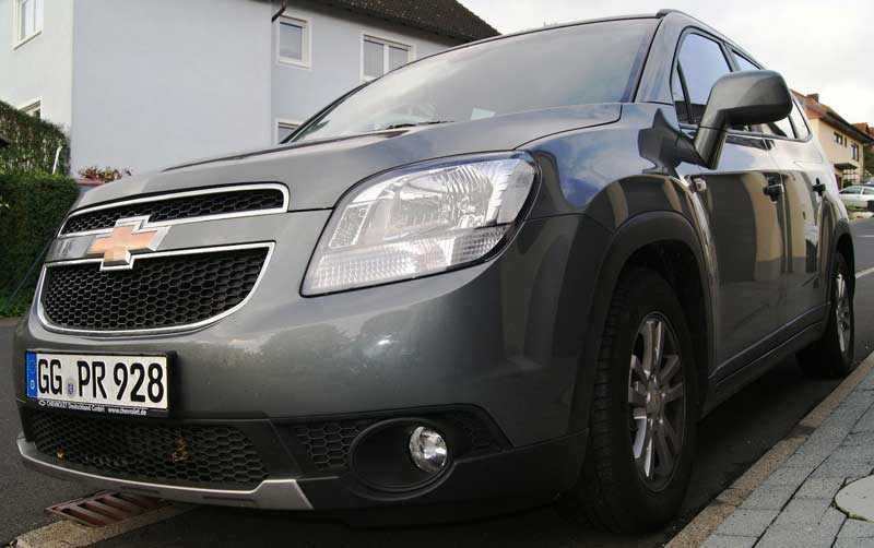 Test Tour Chevrolet Orlando 2 0l Diesel Kus Newsroom