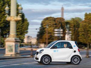 smart: Carsharing-Angebot für Paris