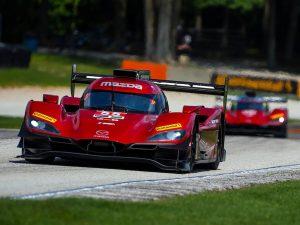 Timo Bernhard mit Mazda Joest bei IMSA Championship 2019 am Start