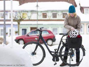 KÜS-Tipp: Sicheres Radfahren im Winter