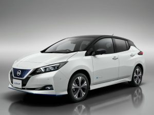 Nissan Leaf: Sondermodell mit mehr Reichweite
