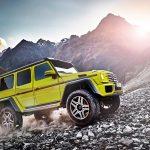 40 Jahre Mercedes-Benz G-Klasse: Aus grobem Holz geschnitzt