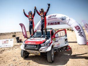 QCC-Rally: Sieg für den Dakar-Sieger