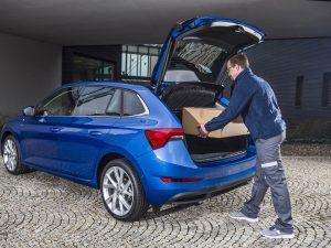 ŠKODA-Projekt: Das Auto als Briefkasten