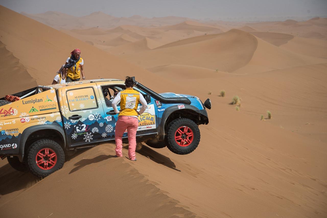 Aicha des Gazelles: Wüsten-Rallye – nur für Frauen