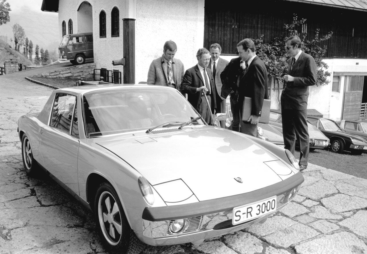 Porsche: 50 Jahre VW-Porsche 914