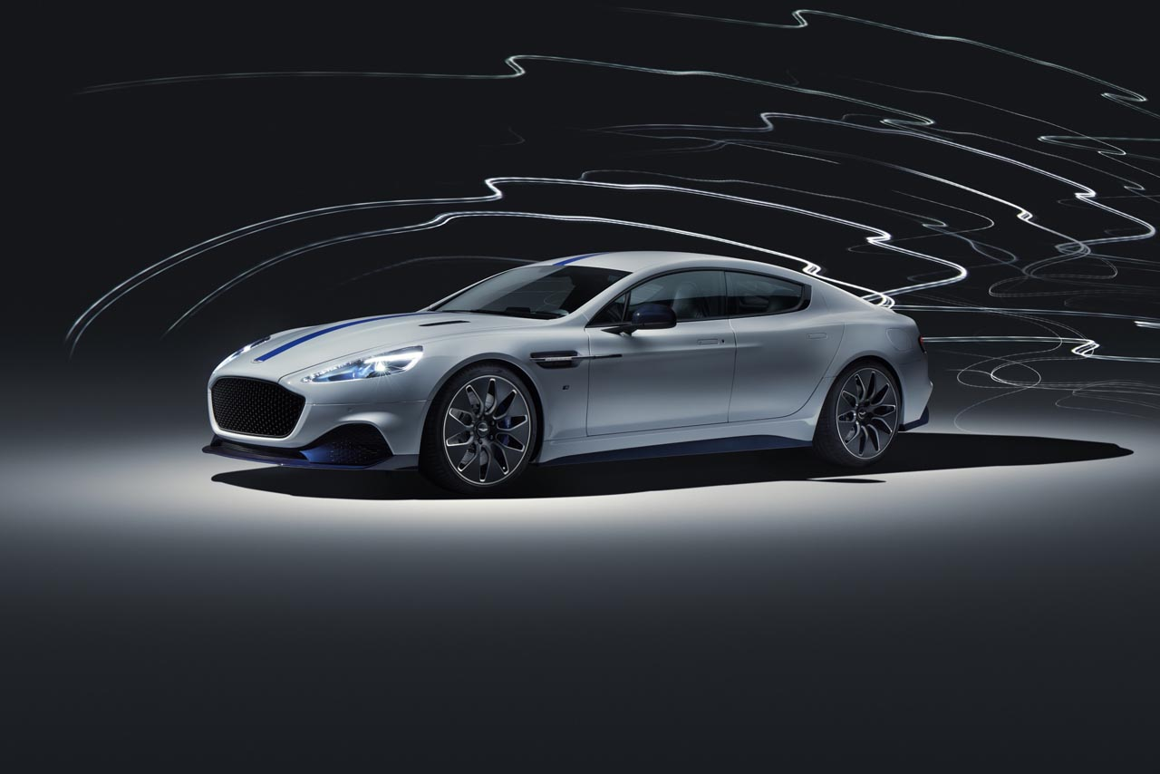 Aston Martin Rapid E: Debüt für Serienversion