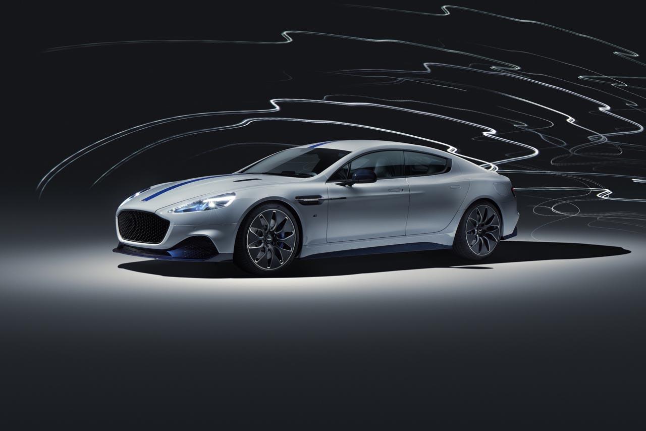 Aston Martin Rapid E: Debüt für Serienversion