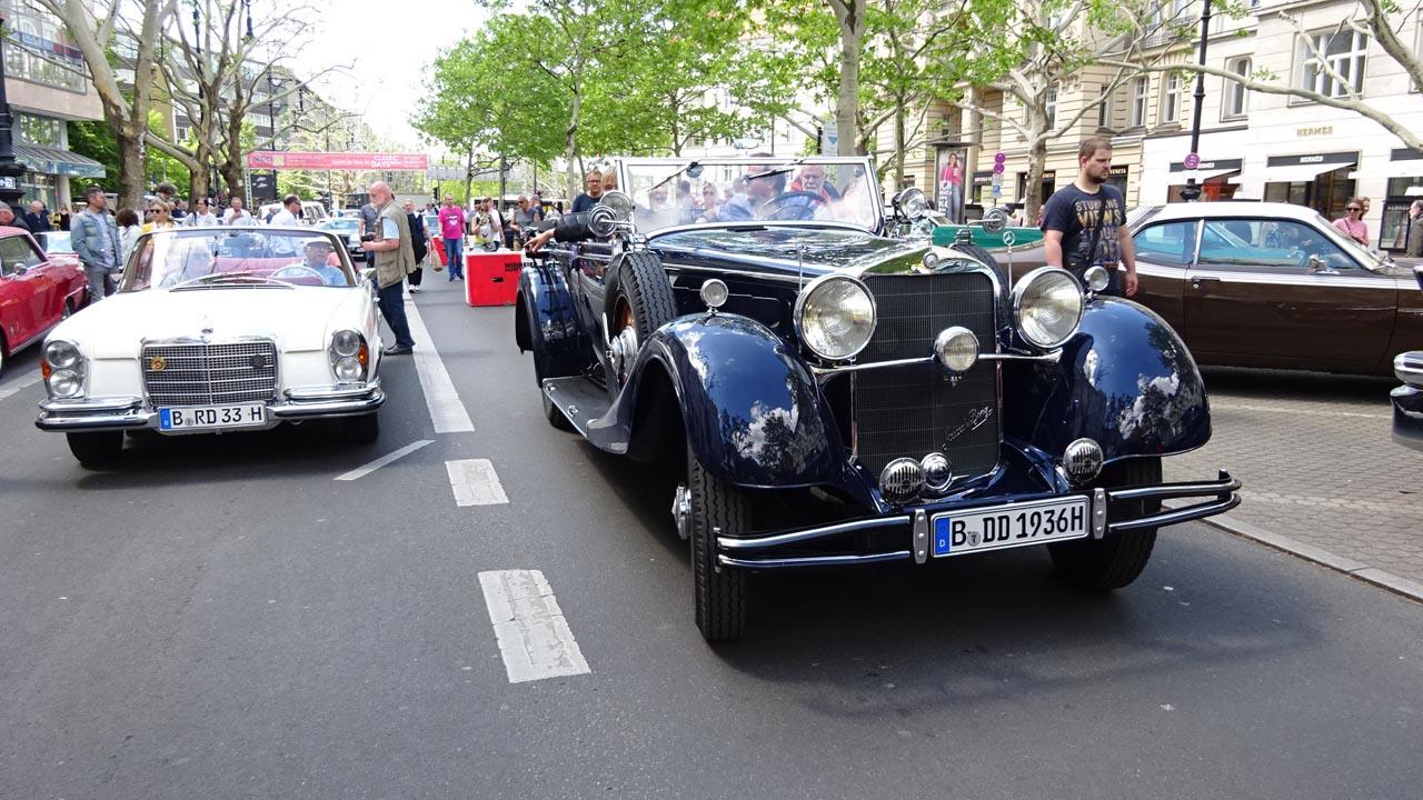 Classic Days Berlin 2019: Treffpunkt für Auto-Enthusiasten
