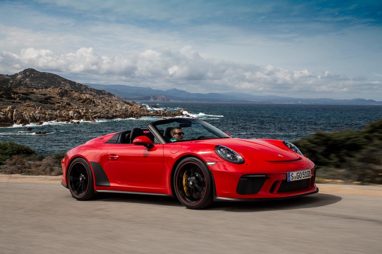 911 Speedster: Hommage an den Ur-Vater der offenen Porsche