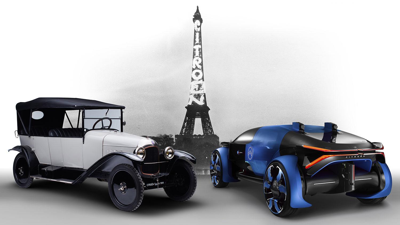 Citroen: 100 Jahre Automobilbau