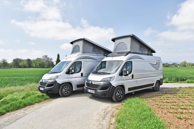 Citroën: Zwei Jumper für Motorradfans
