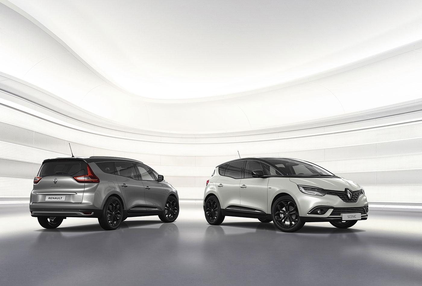 Renault Scénic: Sondermodell in Schwarz – extra üppig