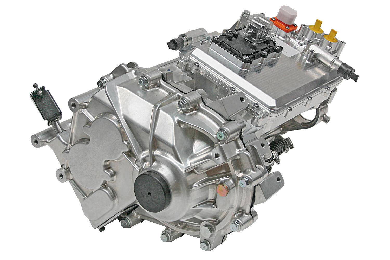 E-Automobile: Erster voll integrierter Achsantrieb in Serie