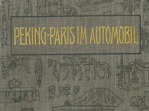 Buchtipp – Barzini: Peking – Paris im Automobil