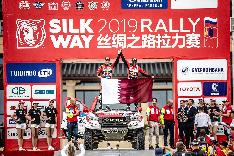 Silkway Rallye: Al-Attiyah mit souveränem Sieg