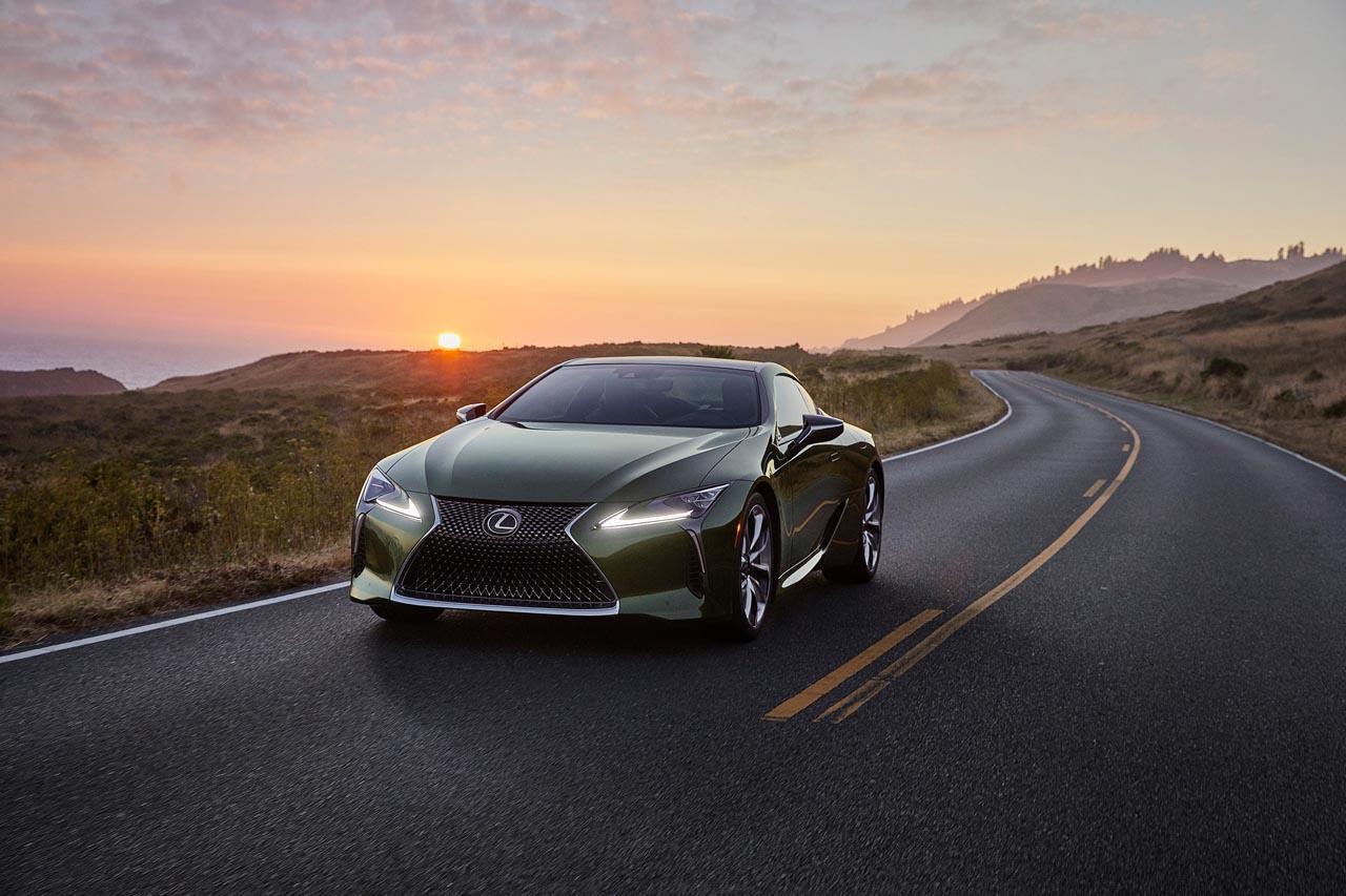 Lexus LC: Sondermodell als Hingucker in Grün