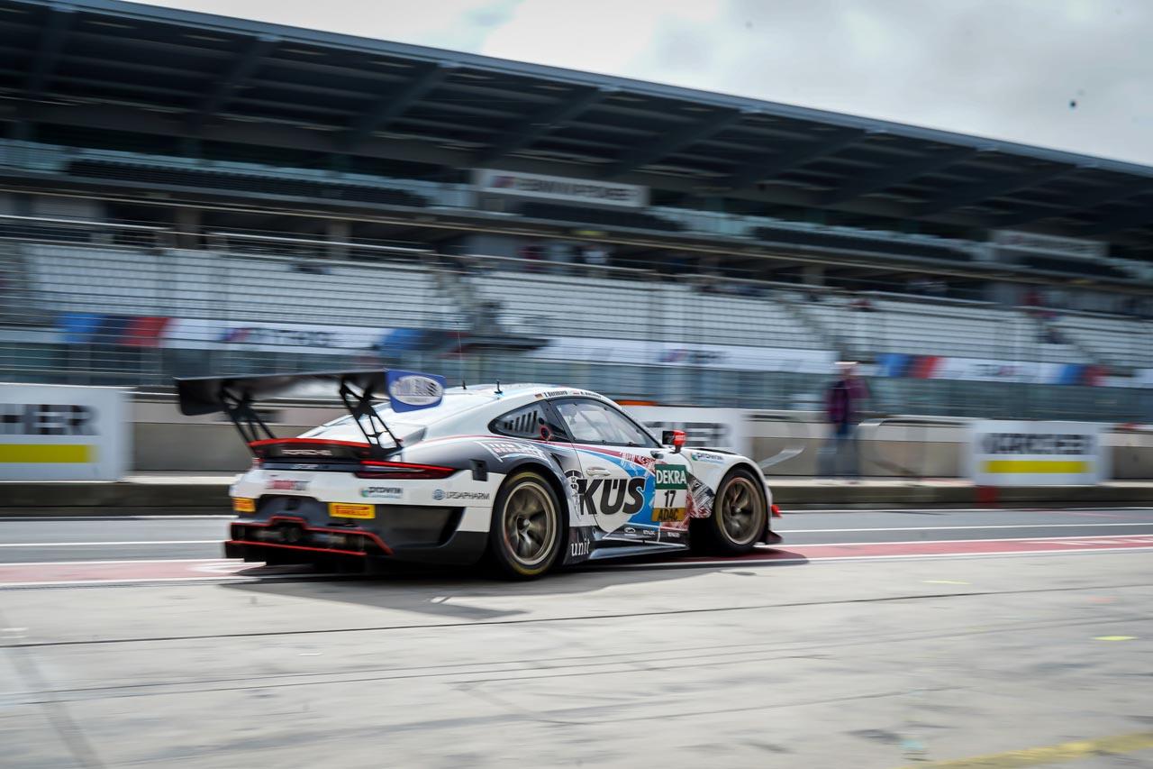 GT Masters am Nürburgring: Podium für das KÜS Team75 Bernhard