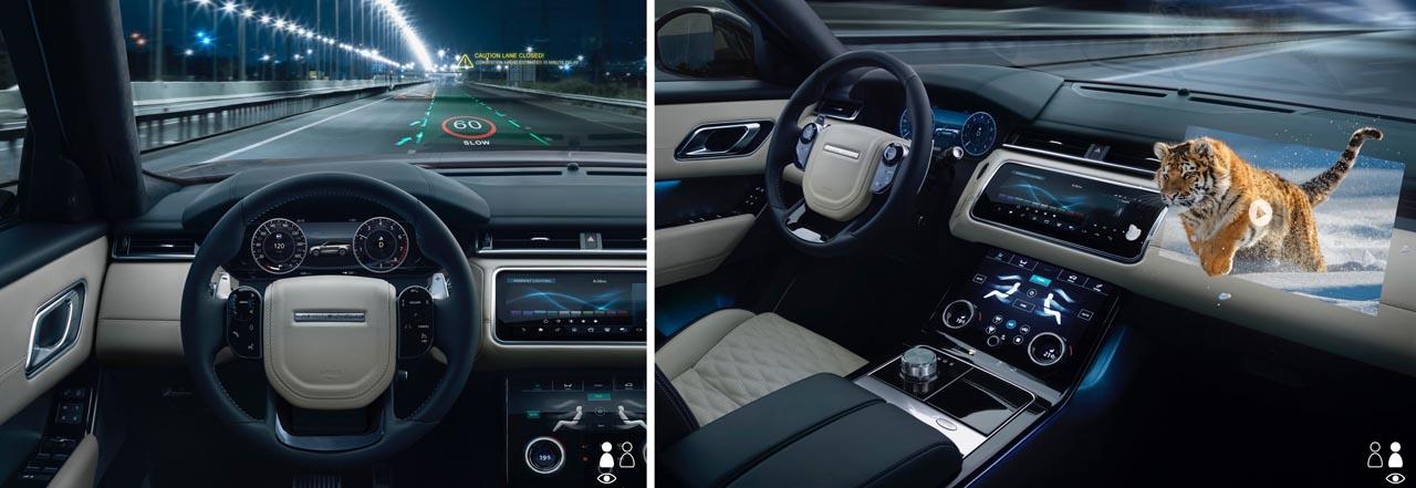 Jaguar Land Rover: 3D-Verfahren für Head-up-Displays