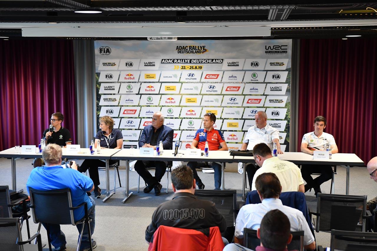 ADAC Rallye Deutschland: Griebel und KÜS gegen die Weltelite