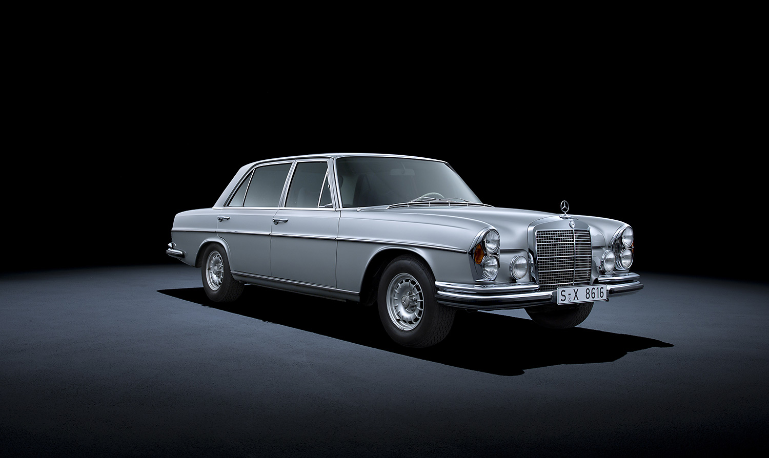 Tradition: 50 Jahre Mercedes-Benz S-Klasse
