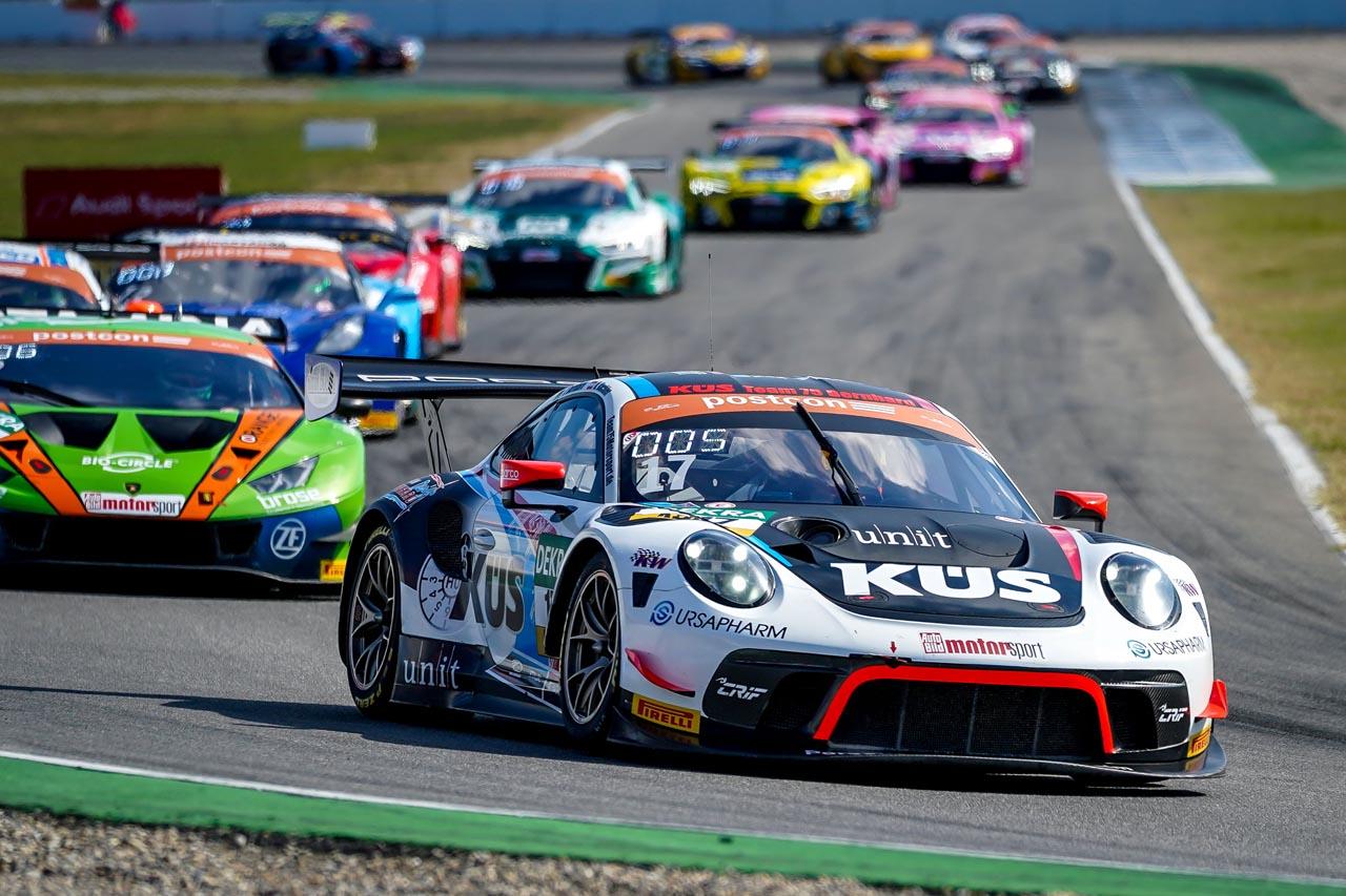 KÜS Team75 Bernhard: ADAC GT Masters in Hockenheim