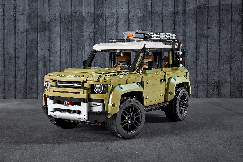 Land Rover: Neuer Defender startet parallel als LEGO-Modell