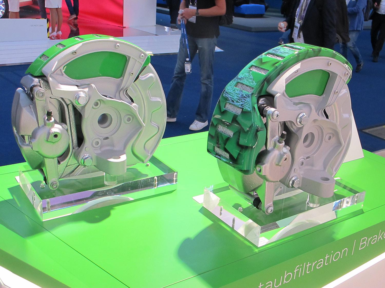 Bremsstaub-Partikelfilter: Hält Lungen und Felgen sauber