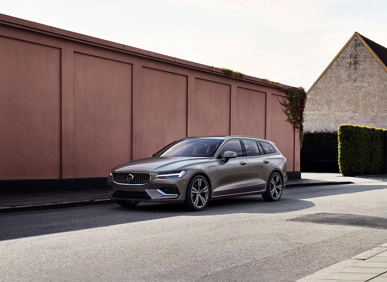 Volvo: Plug-in-Hybrid für den V60