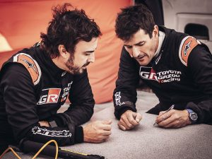 Fernando Alonso und Marc Coma: Vorbereitung auf Dakar-Start