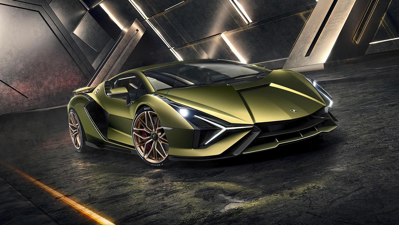 Lamborghini: Mit dem Sián in die Elektromobilität