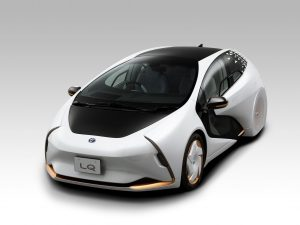 Toyota LQ: Partner des Fahrers