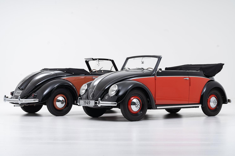 70 Jahre VW Käfer Cabriolet Typ 14