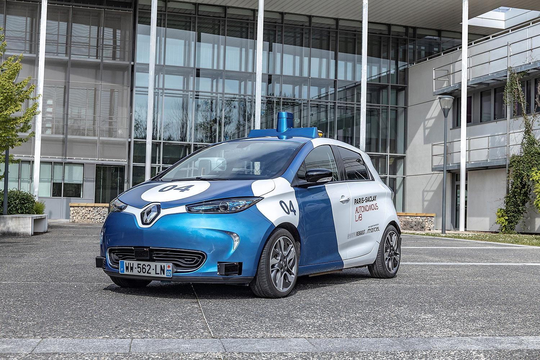 Renault-Erprobung: ZOE als Robo-Taxi