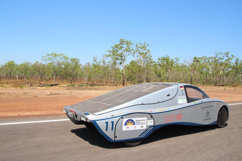 Bridgestone World Solar Challenge: Mit dem Solarauto durchs Outback