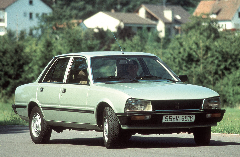 Peugeot: 40 Jahre 505