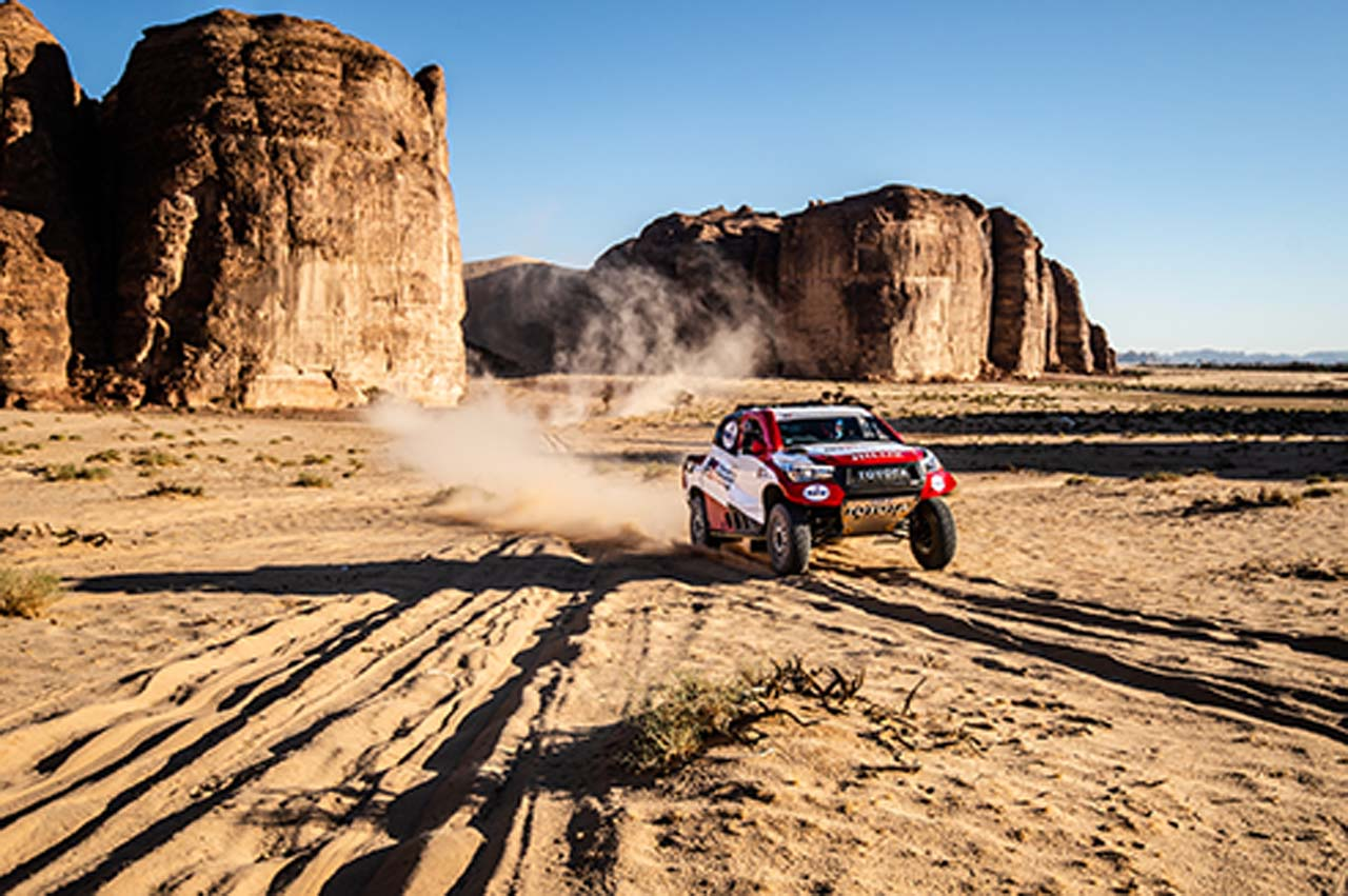 """""""Alonso von Arabien"""": Ganz nah an der Dakar 2020"""