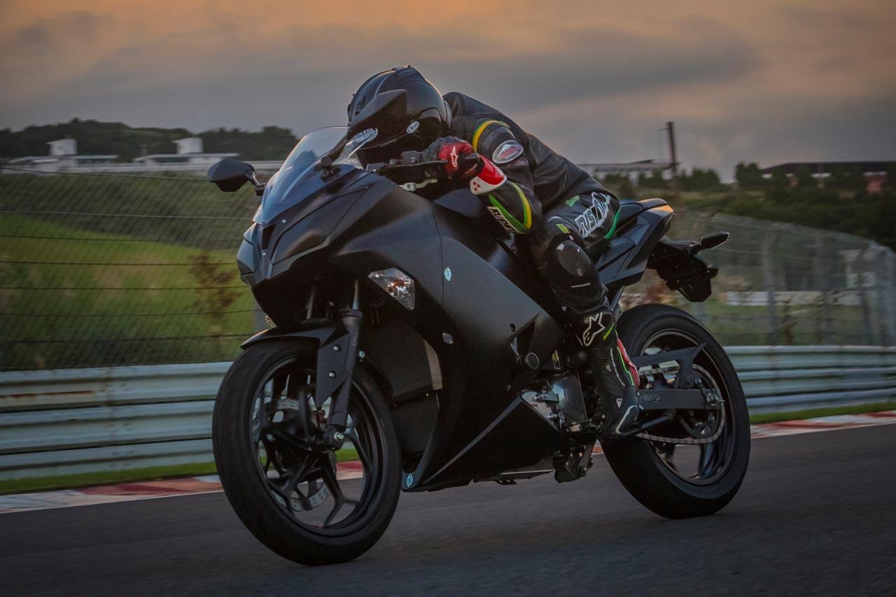 Kawasaki baut E-Motorrad: Die lautlose Ninja