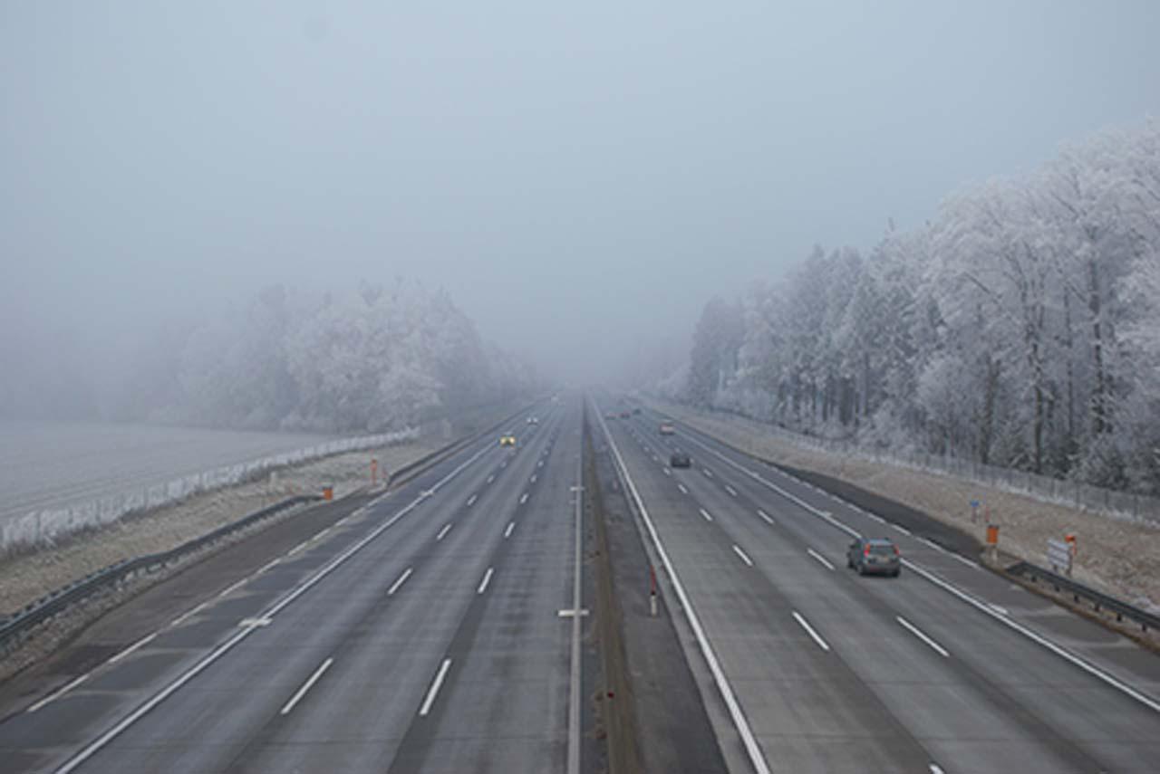 DVR: Sicher fahren bei Nebel