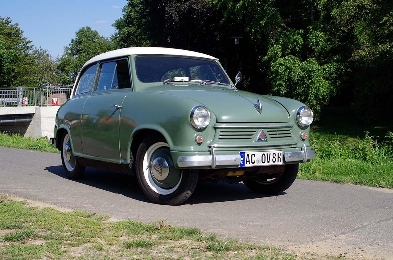 Auto-Historie: Der Lloyd LP 400
