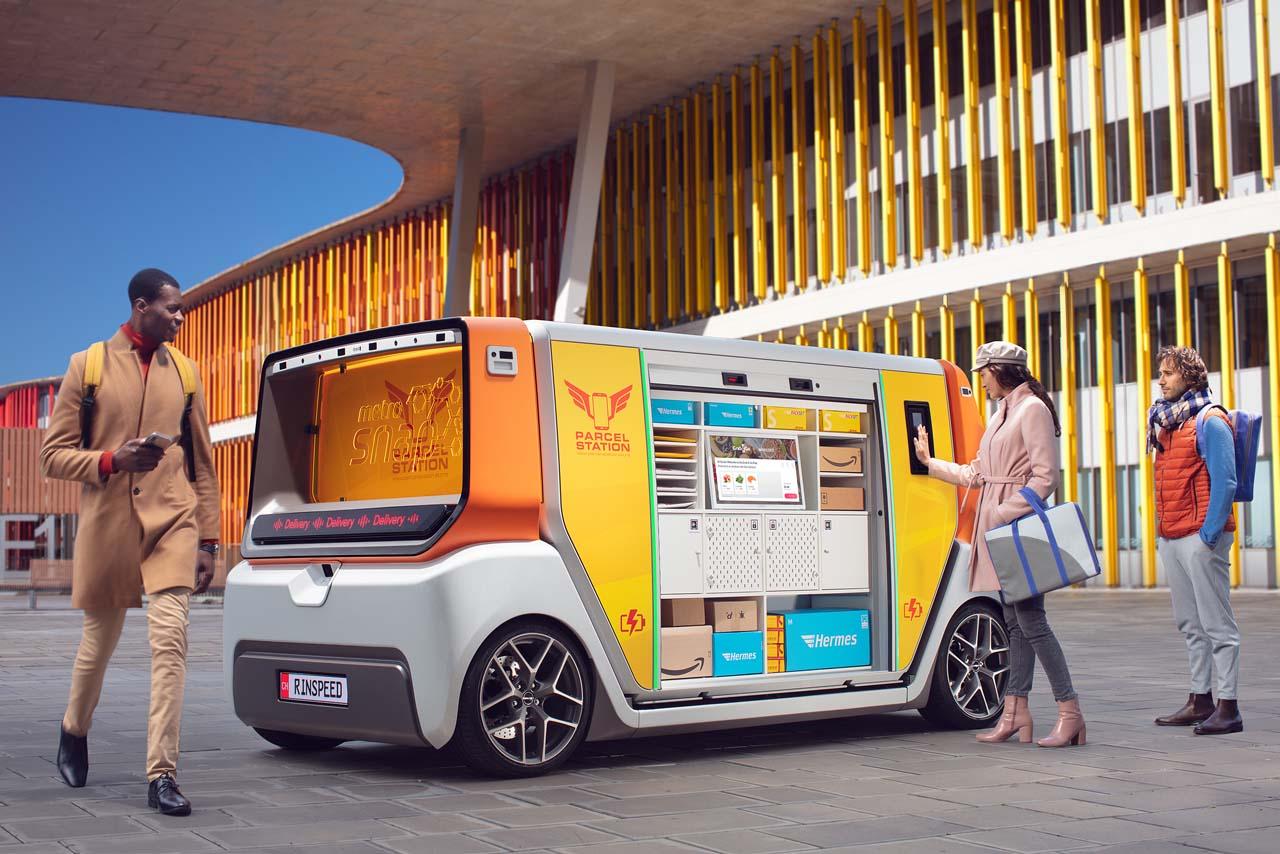 Rinspeed Metrosnap: Elektrisch, autonom fahrend, modular