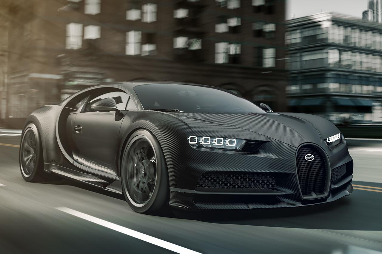Bugatti Chiron: Kaufanreiz in Schwarz – mit 20 Exemplaren