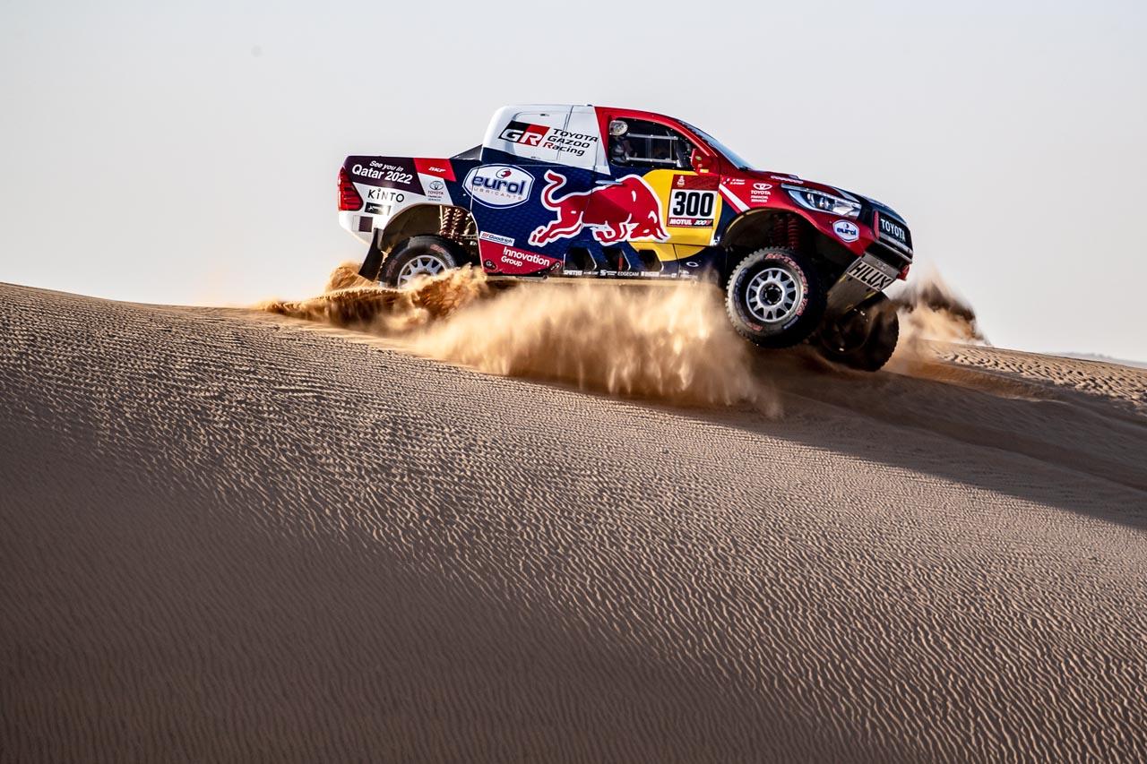 Dakar 2020: Schnelles Terzett kämpft um Gesamtsieg