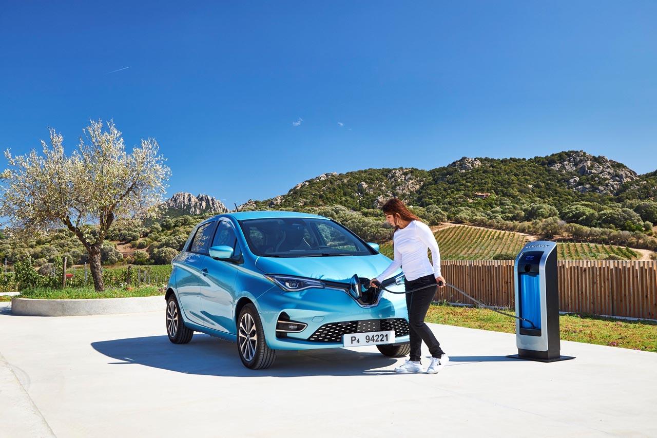 Renault: CC-Ladesystem für neuen ZOE
