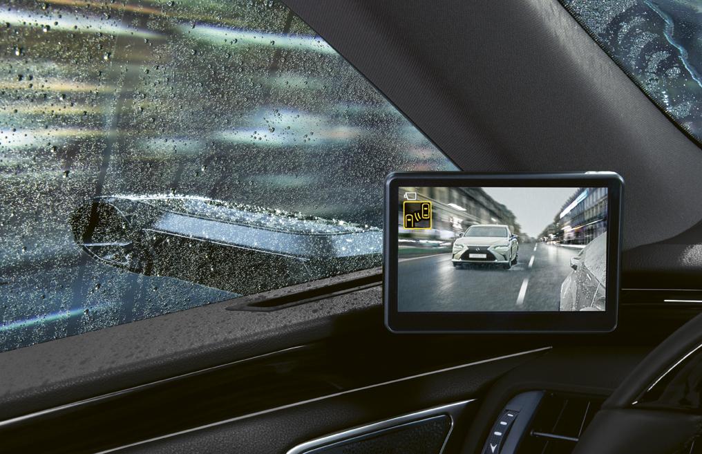 Lexus ES 300h: Kameras ersetzen Außenspiegel