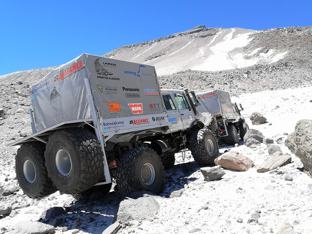 Unimog: Höhen-Weltrekord in Chile