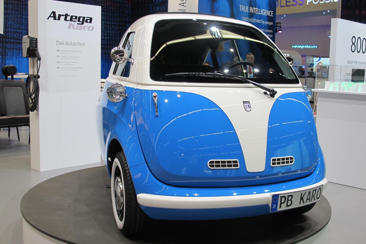 Artega KARO: Die Elektro-Isetta kommt
