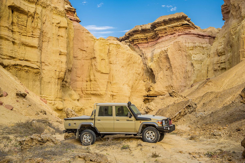 Toyota-Sondermodell Namib: Rückkehr eines Pick-up-Urgesteins