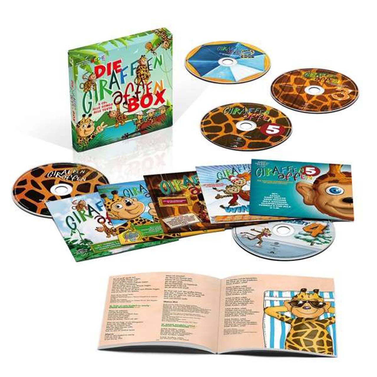 Musik-Tipp: Giraffenaffen (5 CD-Box)