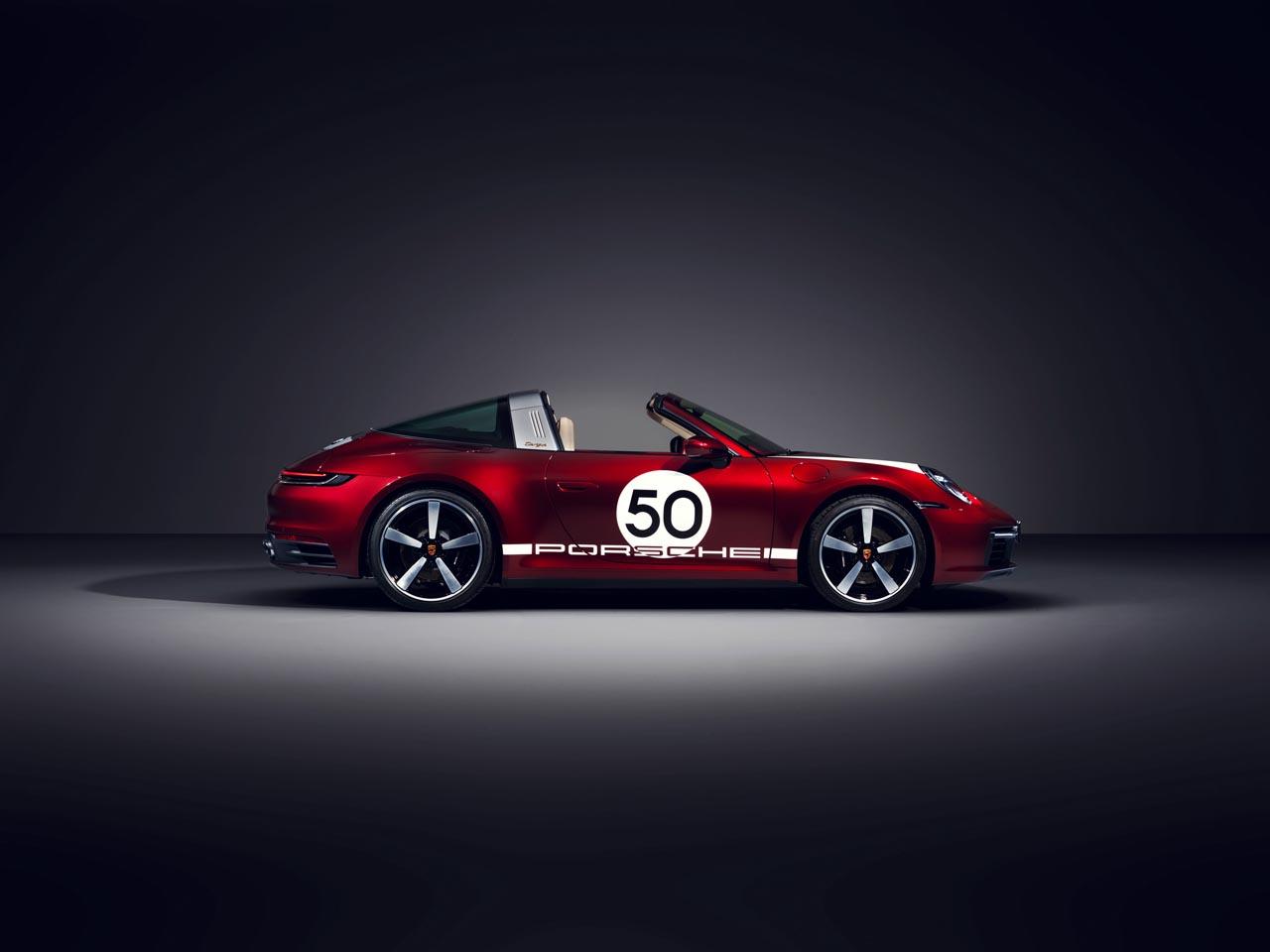 Porsche 911: Sondermodell im Sinne der Targa-Tradition
